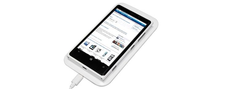 Draadloos uw smartphone of tablet opladen