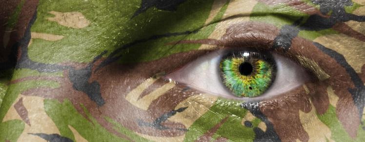 Explorer en Camouflage Case