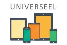 Universeel laptophoesjes