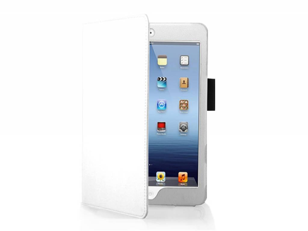 Trendy white custom-made tablet case for your