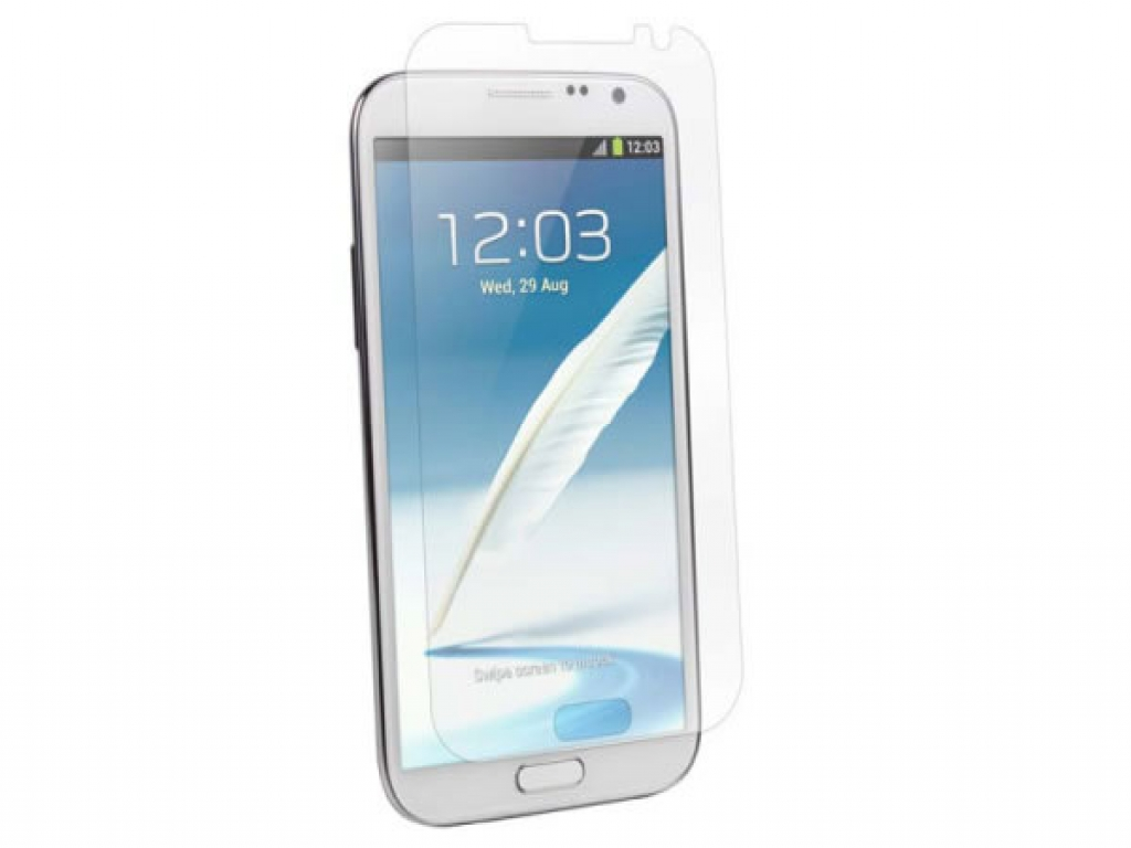 Fully Transparent Screen Protector for the