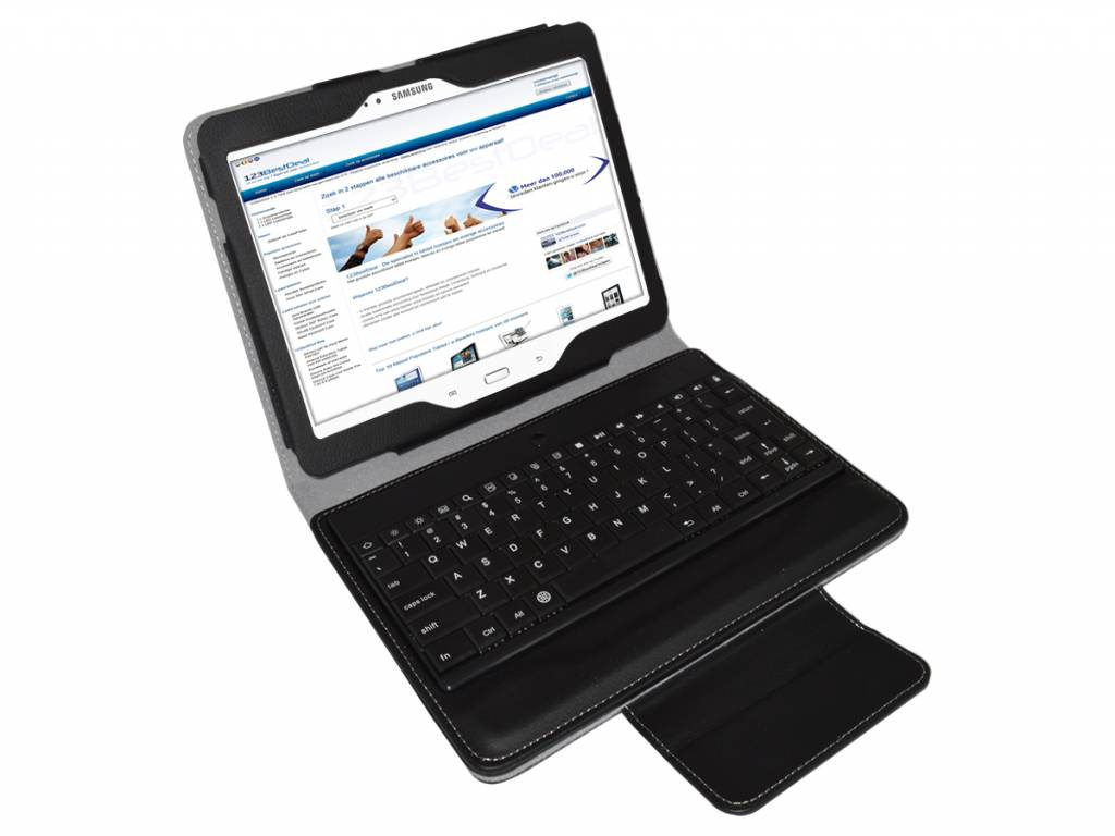 Case with Removable Bluetooth Keyboard for the