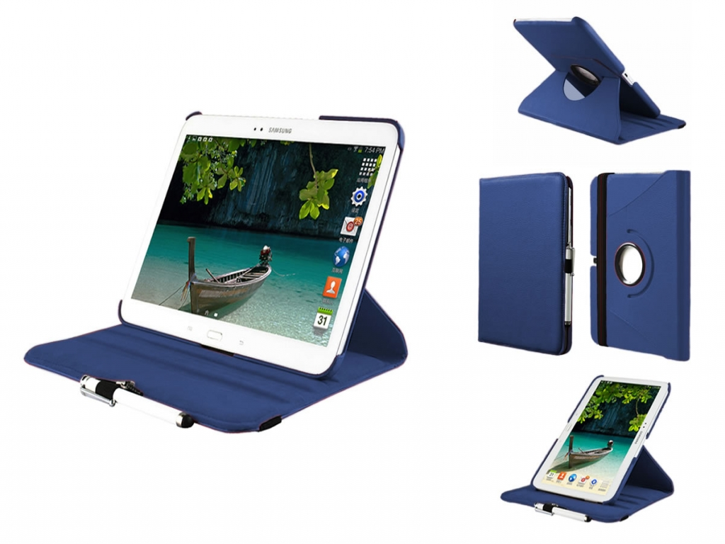 Custom-made swivel case  for the Samsung Galaxy Tab 3 10.1