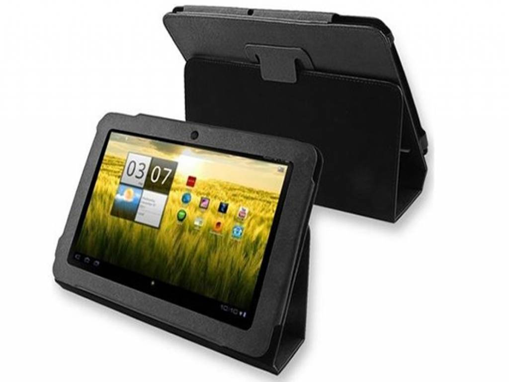 Premium custom-made Tablet Case with integrated stand for the