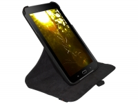 Custom-made 360 degree swivel case for the