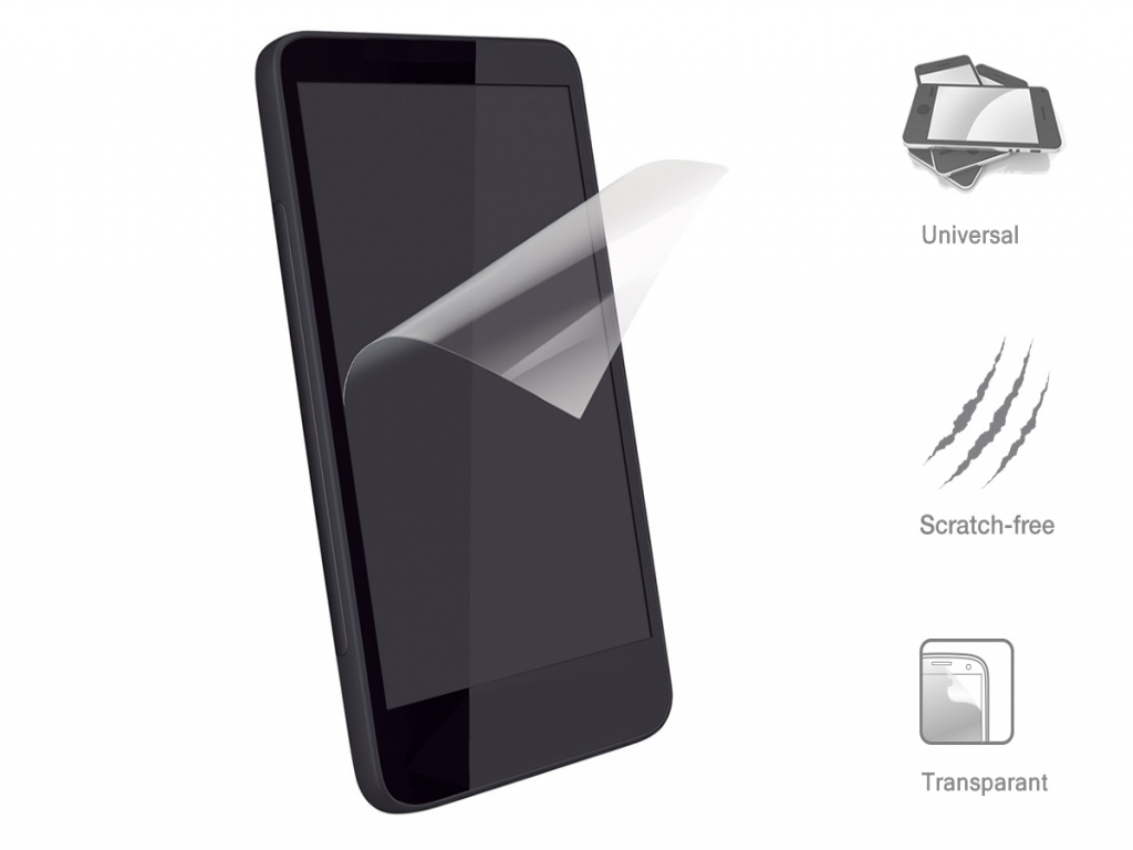 Universal fully transparent Screen Protector for
