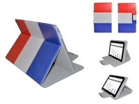 Hoes voor Viewpia Tb 107 met Nederlandse vlag motief