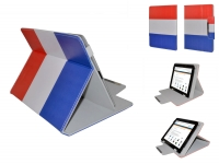 Hoes voor Samsung Galaxy tab s3 9.7 met Nederlandse vlag motief
