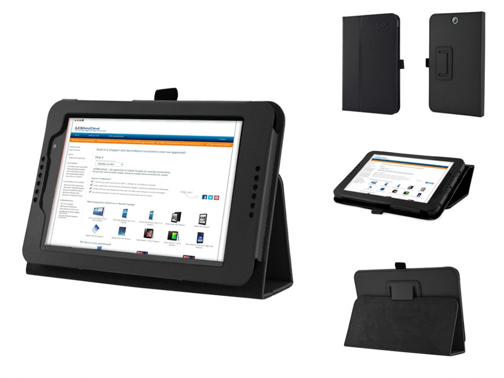 Book Case with Stand for Lenovo Tab A7-50