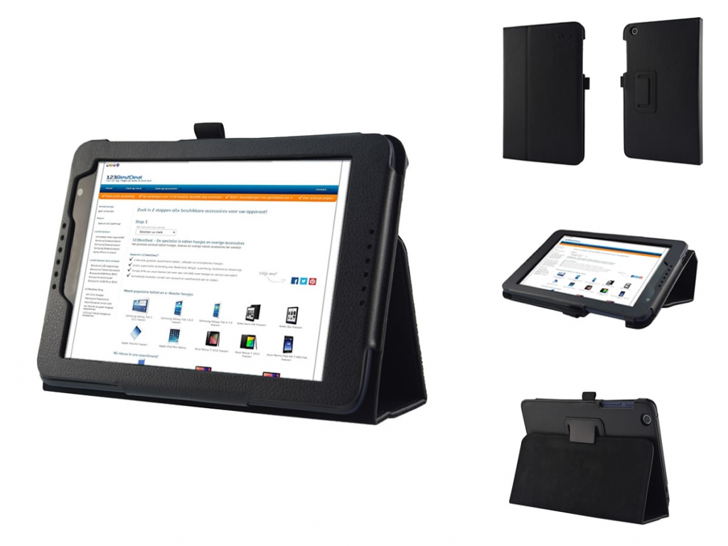 Book Case with Stand for Lenovo Tab A8