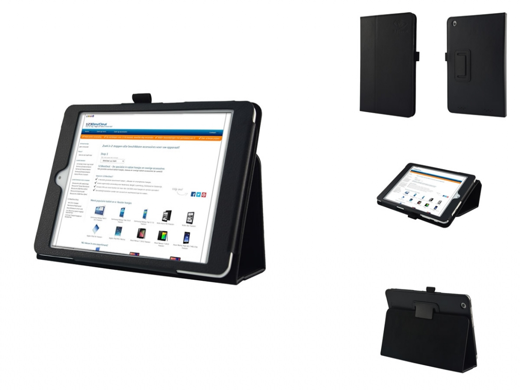 Book Case with Stand for Acer Iconia A1-830