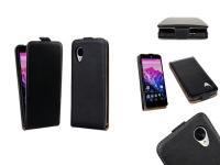 Genuine Leather  Nexus 5 Flip Case