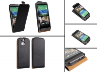 Leather Flip Case for HTC One M8