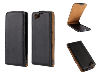Leather Flip Case for Sony Xperia Z1 Compact