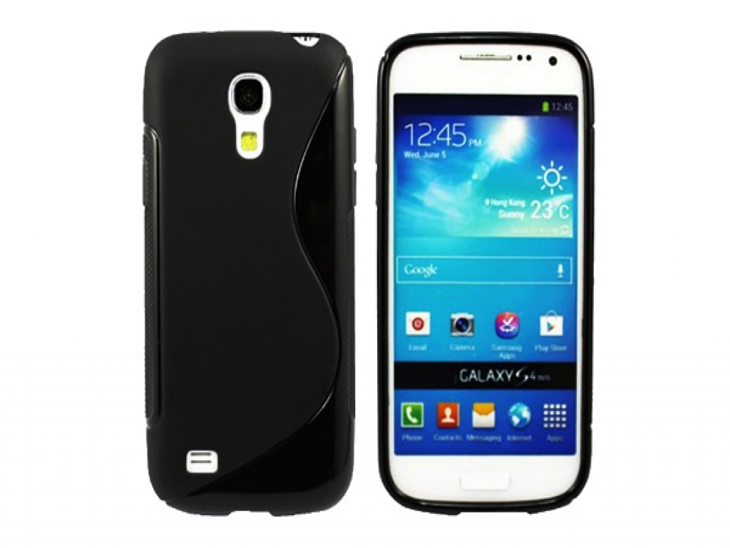 TPU Silicone Skin Case for Samsung Galaxy S4 Mini