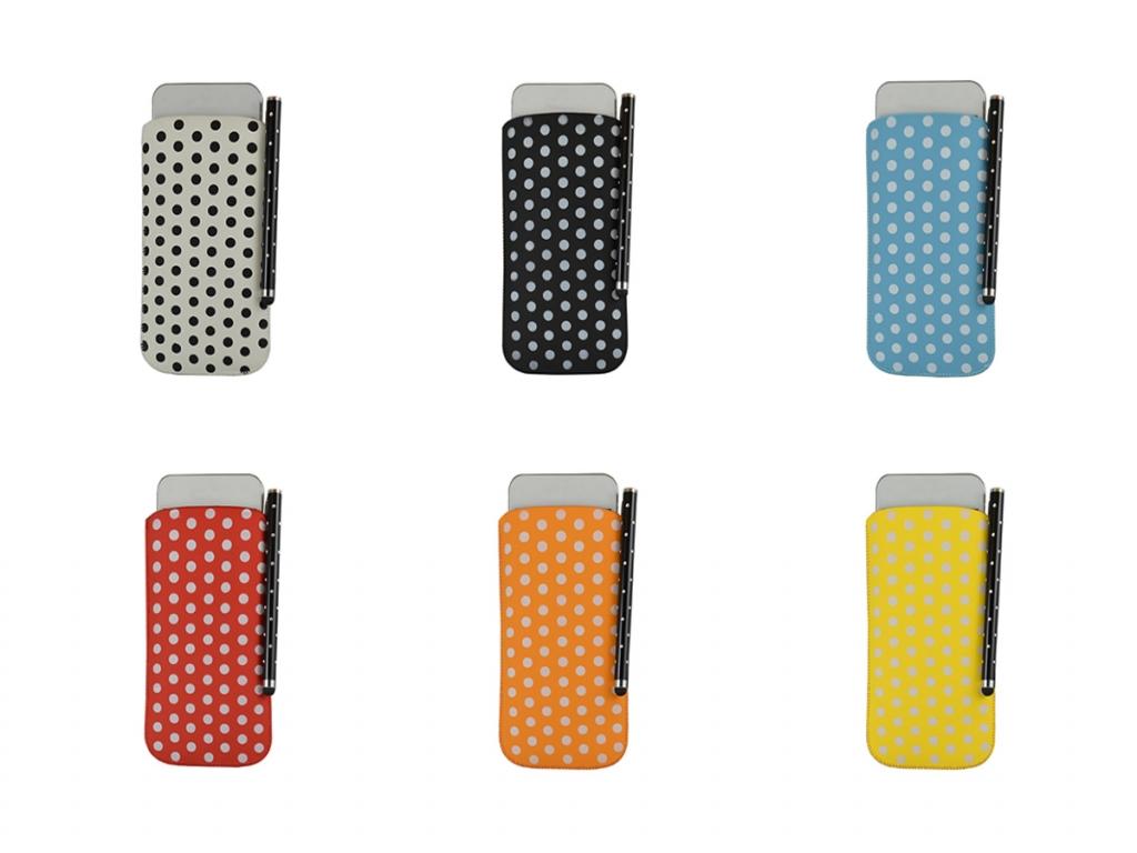 Polka Dot Hoesje incl. Stylus pen voor Fairphone Smartphone