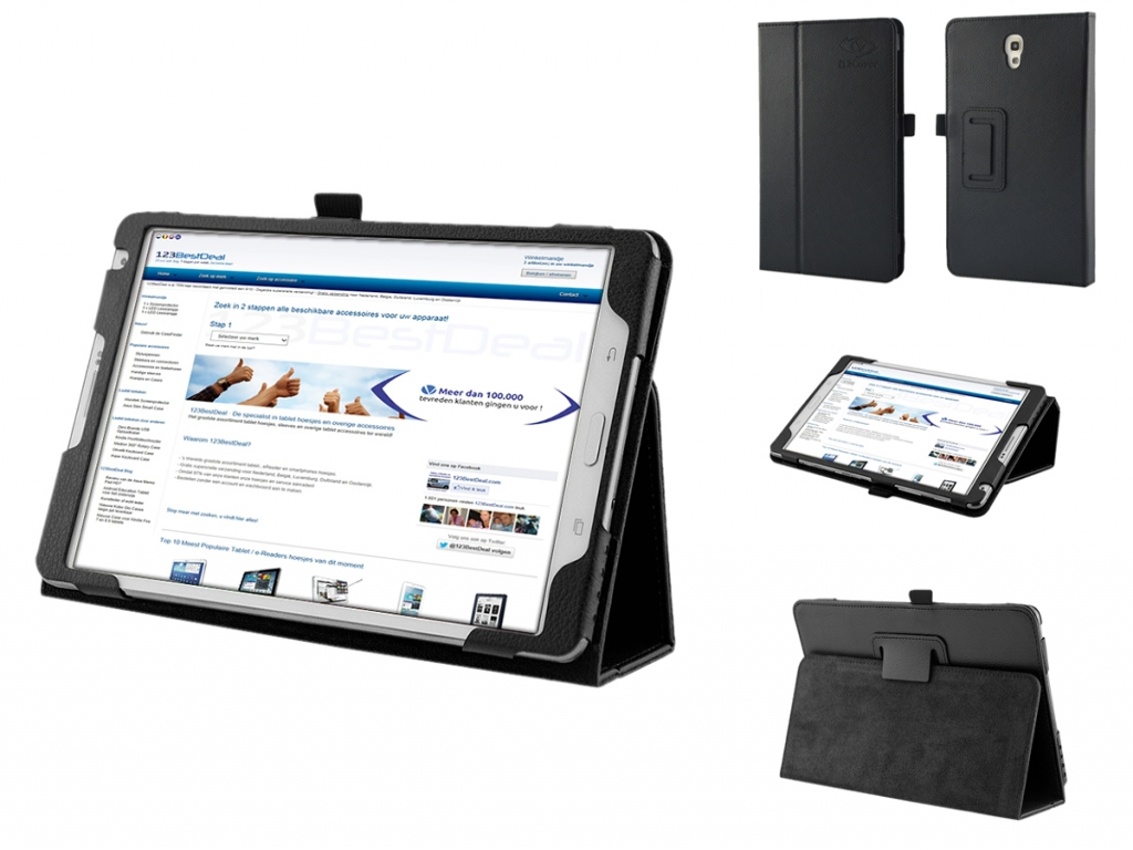 Book Case with Stand for Samsung Galaxy Tab S 8.4