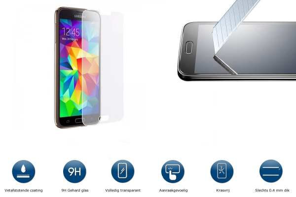 Explosion Proof Glass Screen Protector for Samsung Galaxy S5