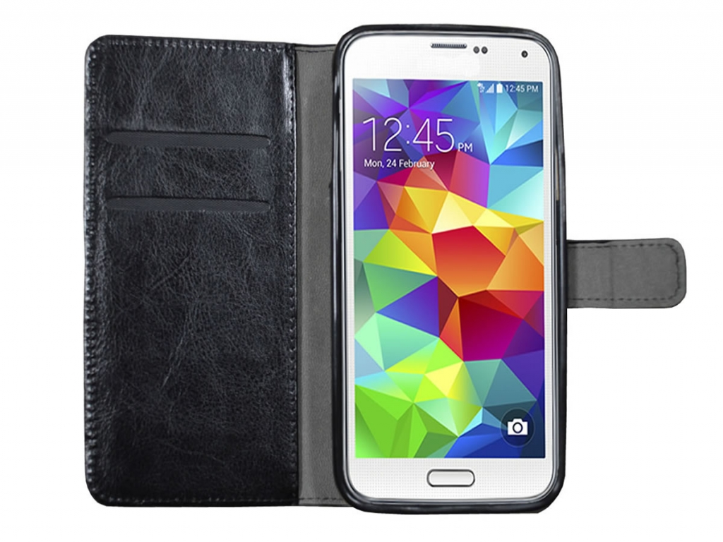 Samsung Galaxy S5 Wallet Book Case