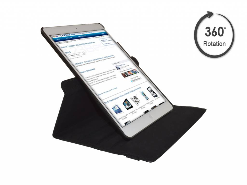 Swivel Case for iPad Air with 360 degrees rotatable multi-stand