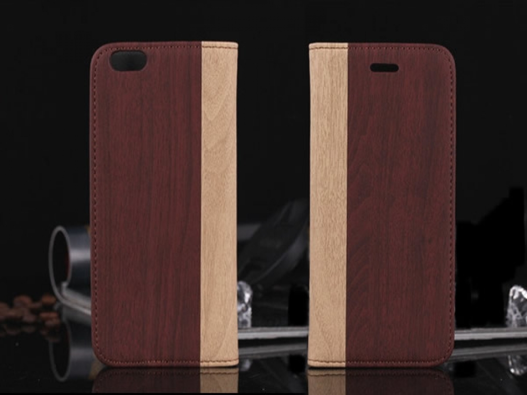 Case wood-style cover