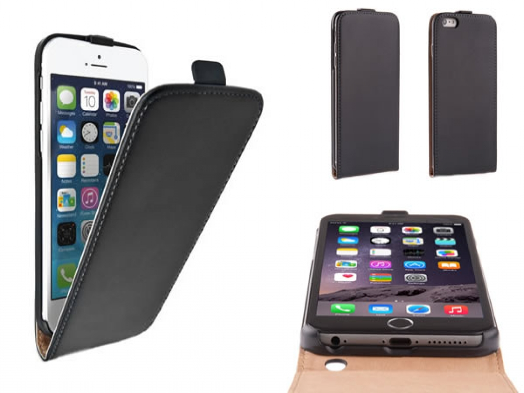 Leather iPhone 6 Flip Case