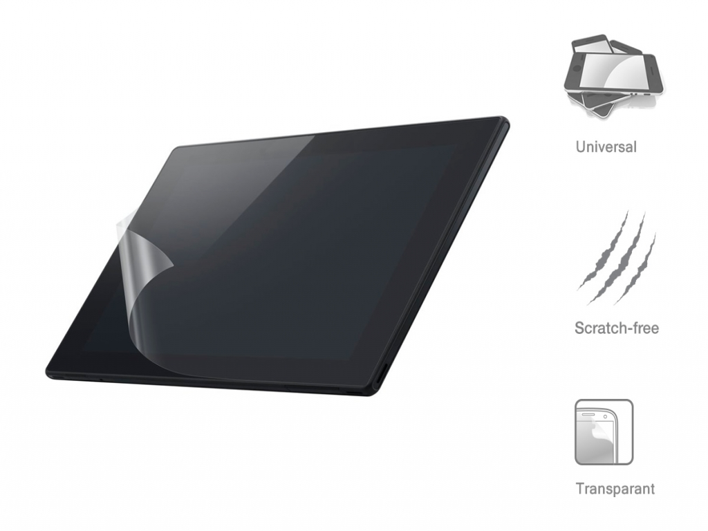 Universele 7 inch Screen Protector voor de Qware Tabby 7 inch