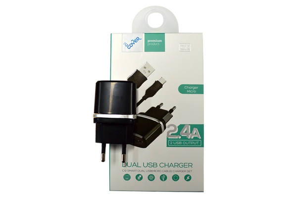Micro USB charger 2400mA   including cable