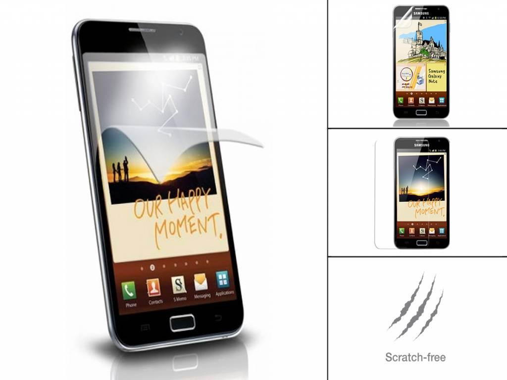 Fully Transparent Screen Protector for