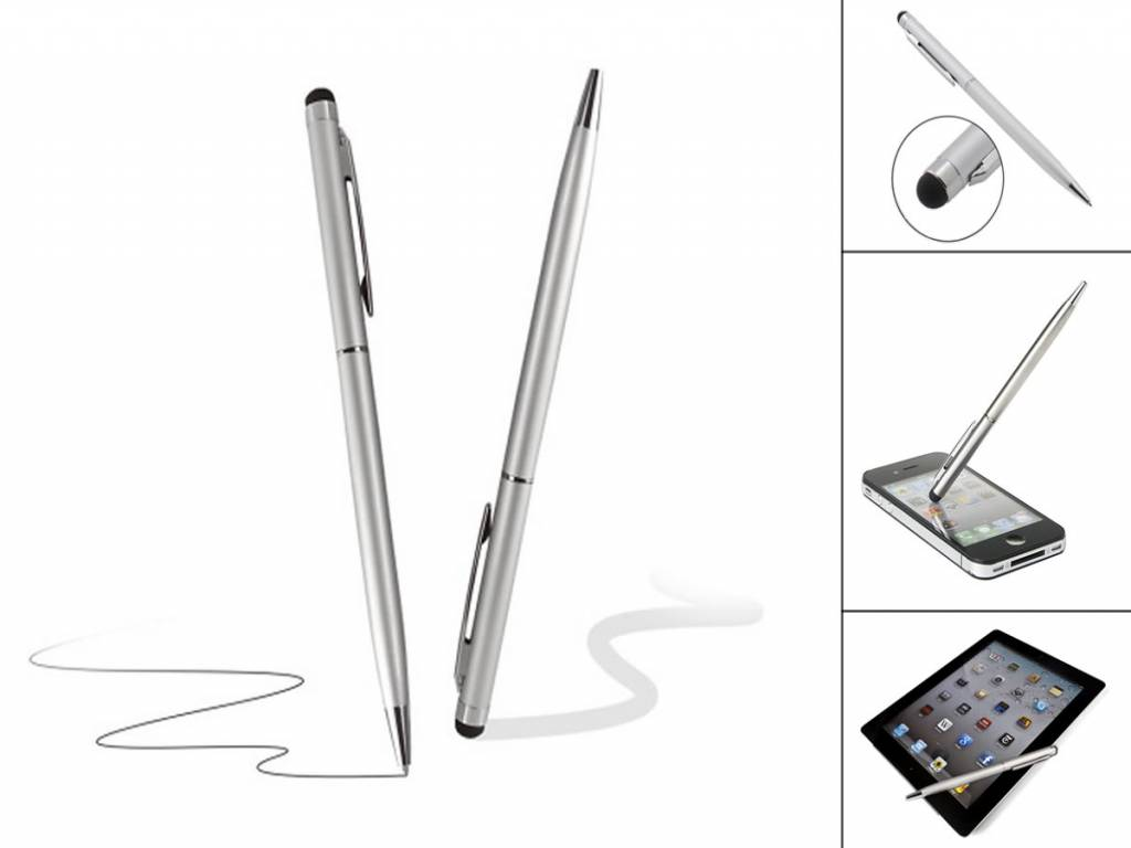 2-in-1 Stylus Pen with ballpoint for ,