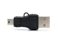 Verloopstekker mini USB naar male USB voor Universeel Universeel