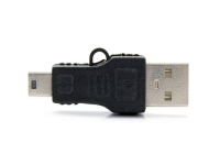 USB A 2.0 Male to USB Mini Male Adapter for
