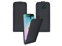 Leather Flip Case Samsung Galaxy S6 Edge