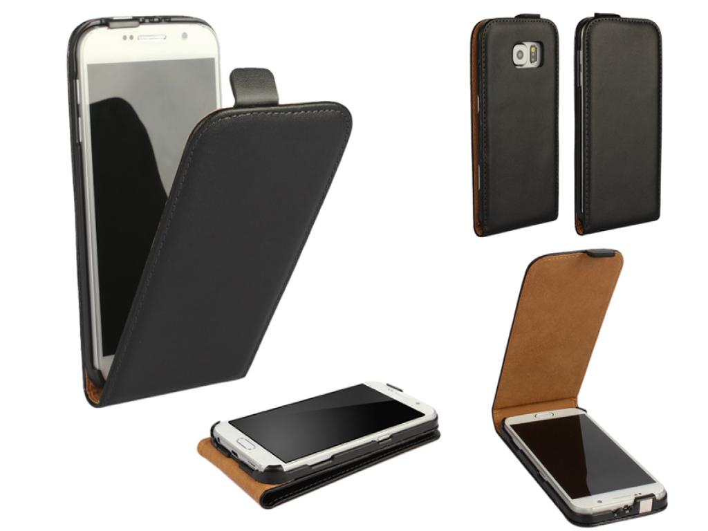 Leather Flip Case Samsung Galaxy S6