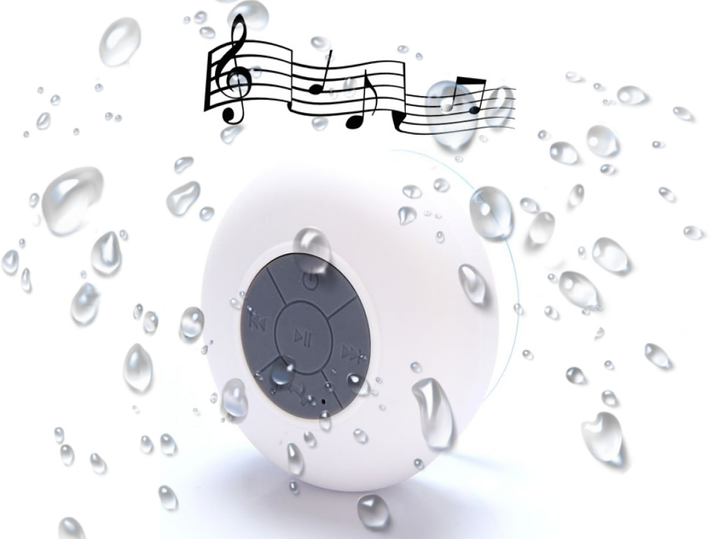 Waterproof Bluetooth Badkamer Speaker Terra Pad 1051