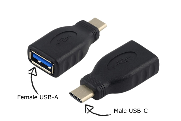 Converter USB-C to normal USB-A 3.0