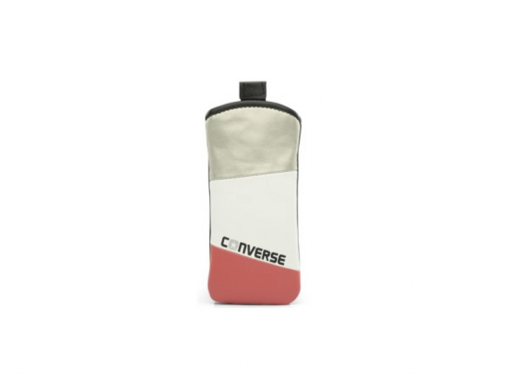 Universeel Universeel Converse Pouch Tricolore Zilver XL