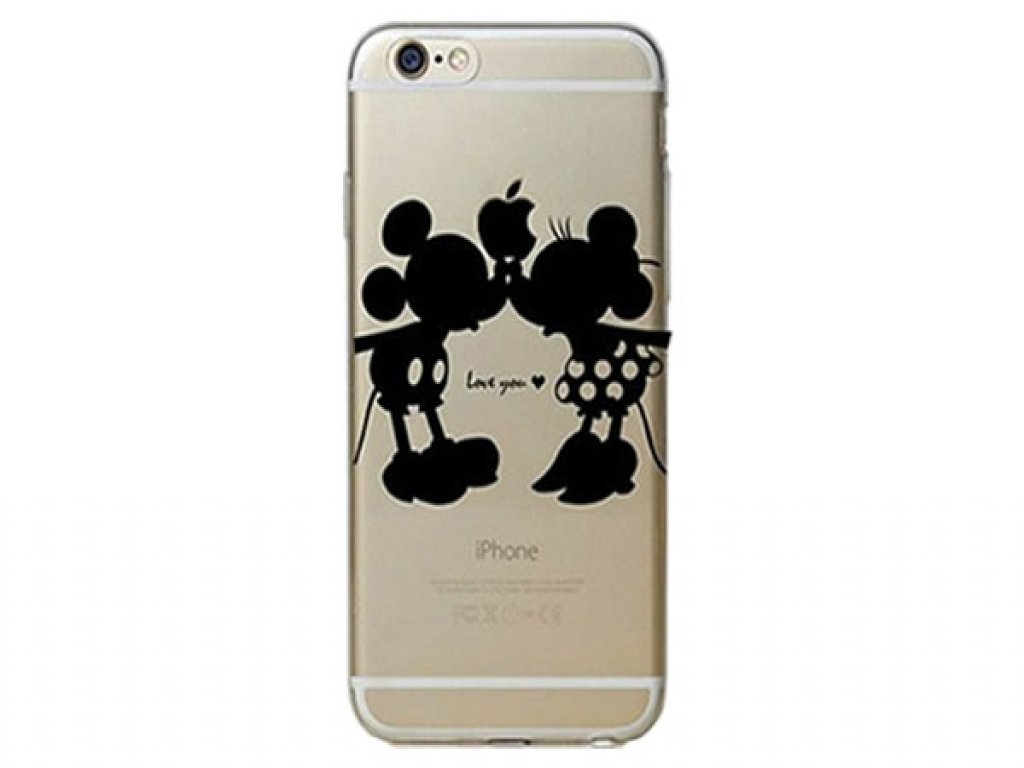 Softcase Mickey & Minnie iPhone 4/4S