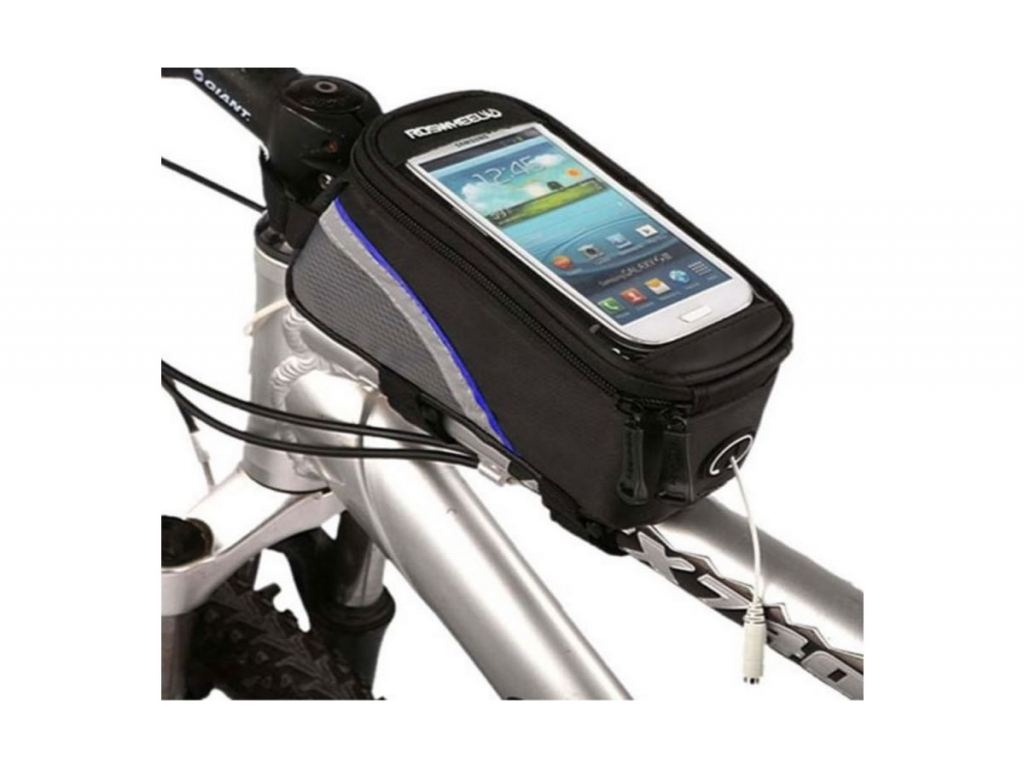 Bike holder and bag for