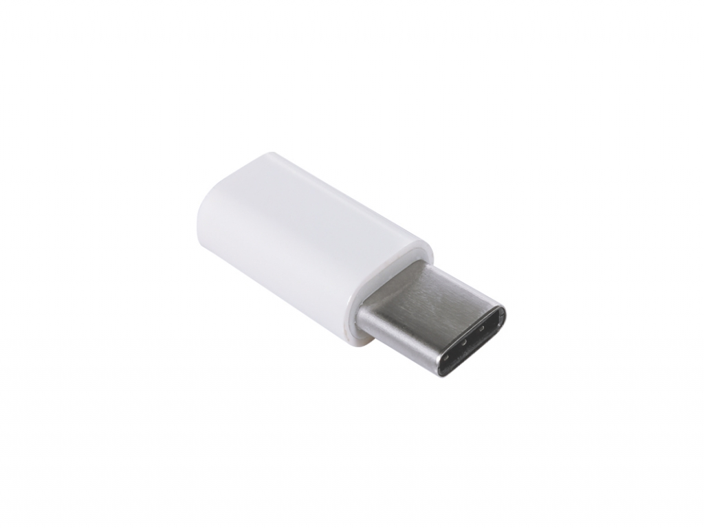 Adapter Female Micro USB naar Male USB-C for
