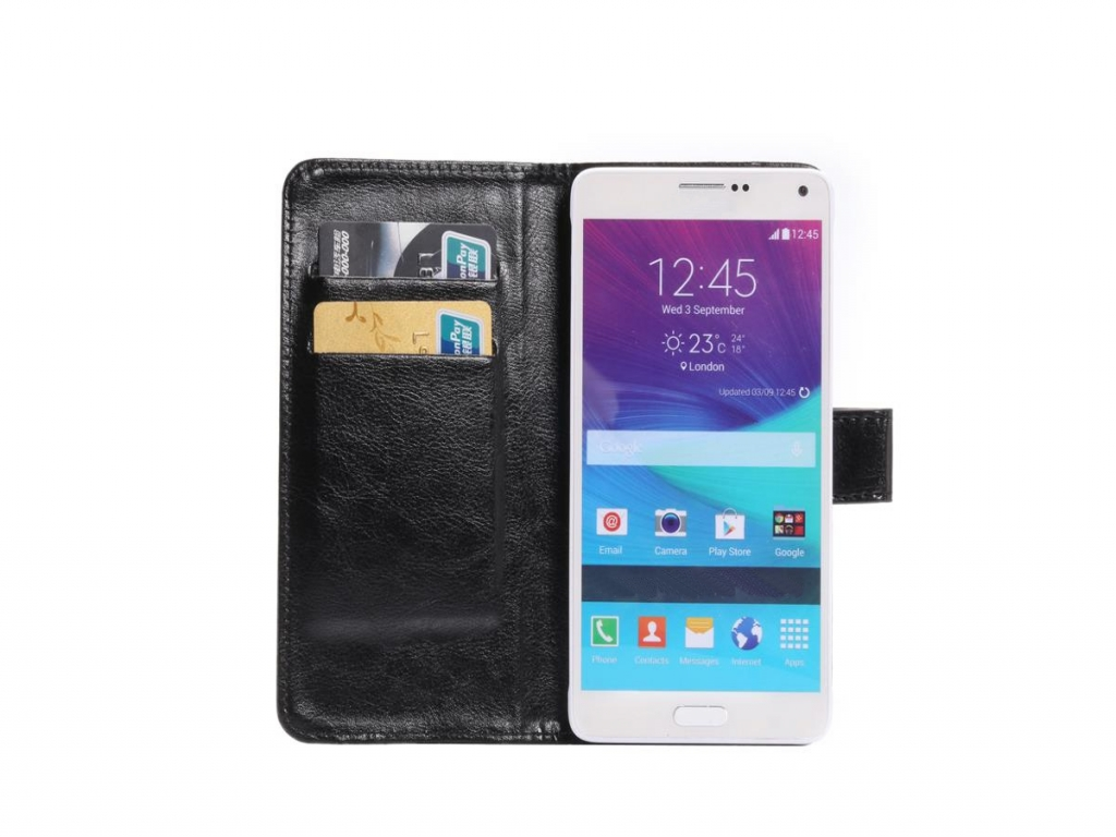 Luxe Book Wallet Case voor Fairphone Smartphone