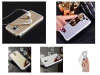 Custom-made Silicone phone cover   with mirror