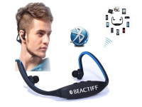 Bluetooth Sport In-ear koptelefoon voor Panasonic Toughpad fz m1
