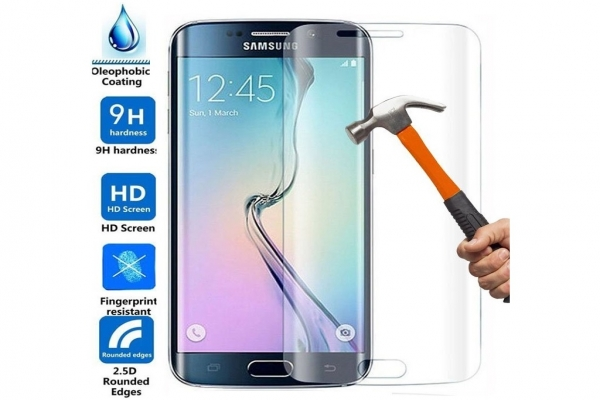 Curved Tempered Glass Screen Protector Samsung Galaxy S7 Edge