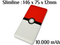 Mobile Power Bank 10000 mAh Pokemon