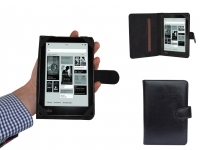 Universal  eReader case with elastic handle