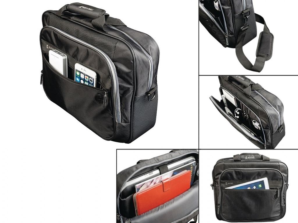 Notebook bag XL with headphone pass through