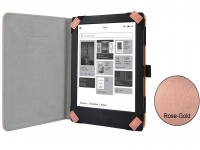 Carpe Diem hoesje voor Barnes noble Nook simple touch rose gold/goud