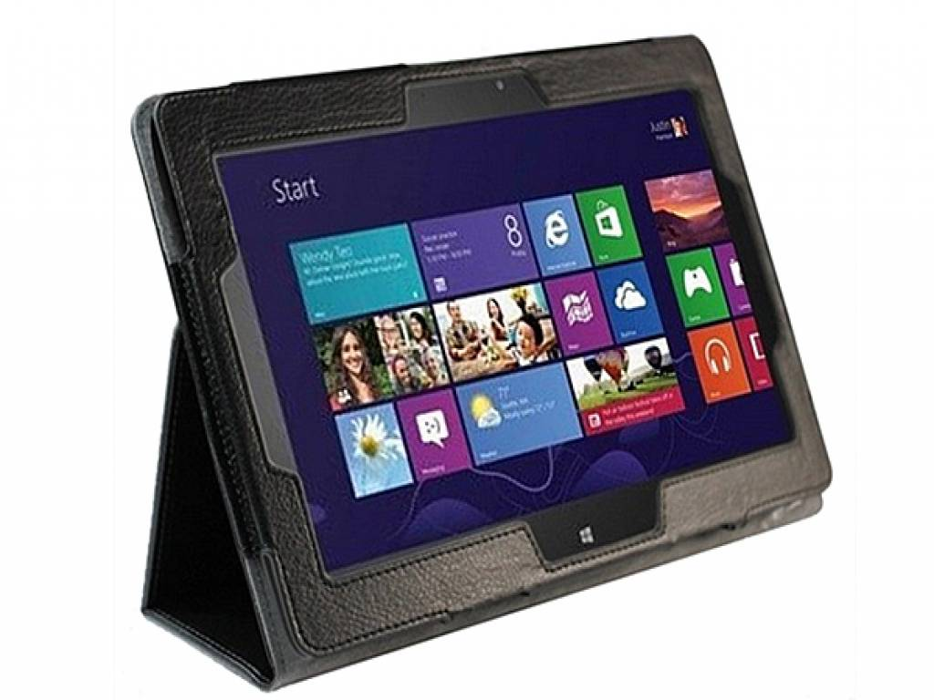 Premium Tablet Case with integrated stand for the