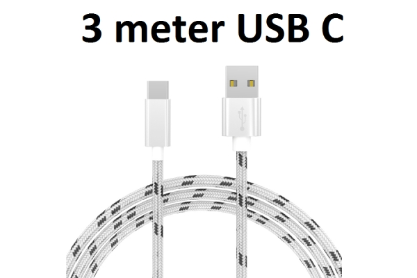 USB C Cable 3m for
